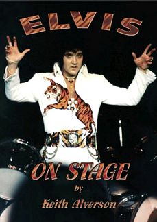 Elvis On Stage by Keith Alverson